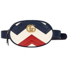 Сумка на пояс Gucci Marmont bag 401294-luxe5R