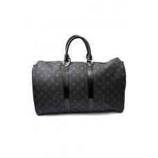 Дорожная сумка Louis Vuitton Monogram Eclipse Keepall 55  41417-luxе2R