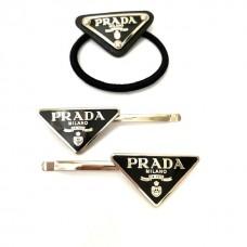 Заколки+резинка для волос PRADA 118311-luxe1R