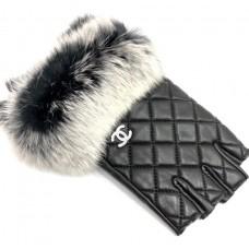 Перчатки автоледи Chanel 0420-luxe20R