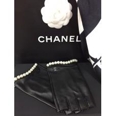 Перчатки автоледи Chanel 7010-luxe premium-R
