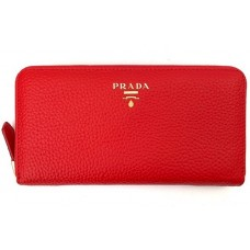 Кошелек PRADA leather Wallet 0506-luxe7R