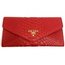 Кошелек PRADA leather Wallet 0504-luxe2R