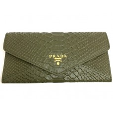 Кошелек PRADA leather Wallet 0504-luxe4R