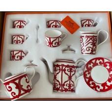 Чайный сервиз (с чайными ложками ) Hermes 4568R