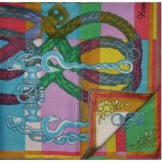 Шелковый платок HERMES 6034R