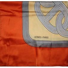 Шелковый платок Hermes 1404R