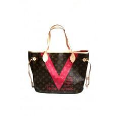 Сумка Louis Vuitton Neverfull canvas 40156R