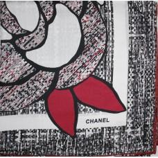 Шелковый платок Chanel 3649-luxe1 premium-R