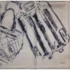 Шелковый платок Chanel 3636-luxe premium-R