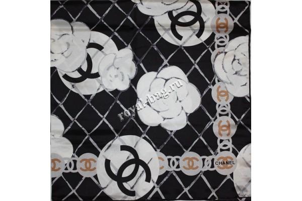 Шелковый платок Chanel 3639-luxe premium-R