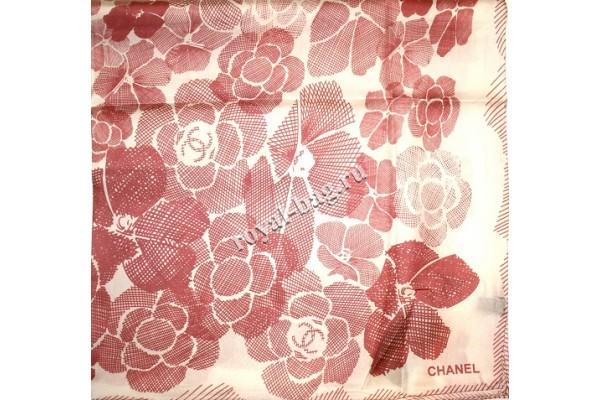 Шелковый платок Chanel 3642-luxe premium-R