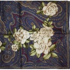 Шелковый платок Chanel 3647-luxe premium-R