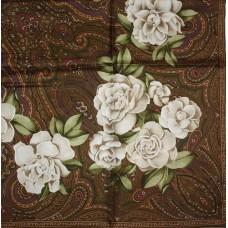 Шелковый платок Chanel 3648-luxe premium-R