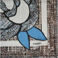 Шелковый платок Chanel 3650-luxe premium-R