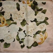 Шелковый платок Chanel 3645-luxe premium-R