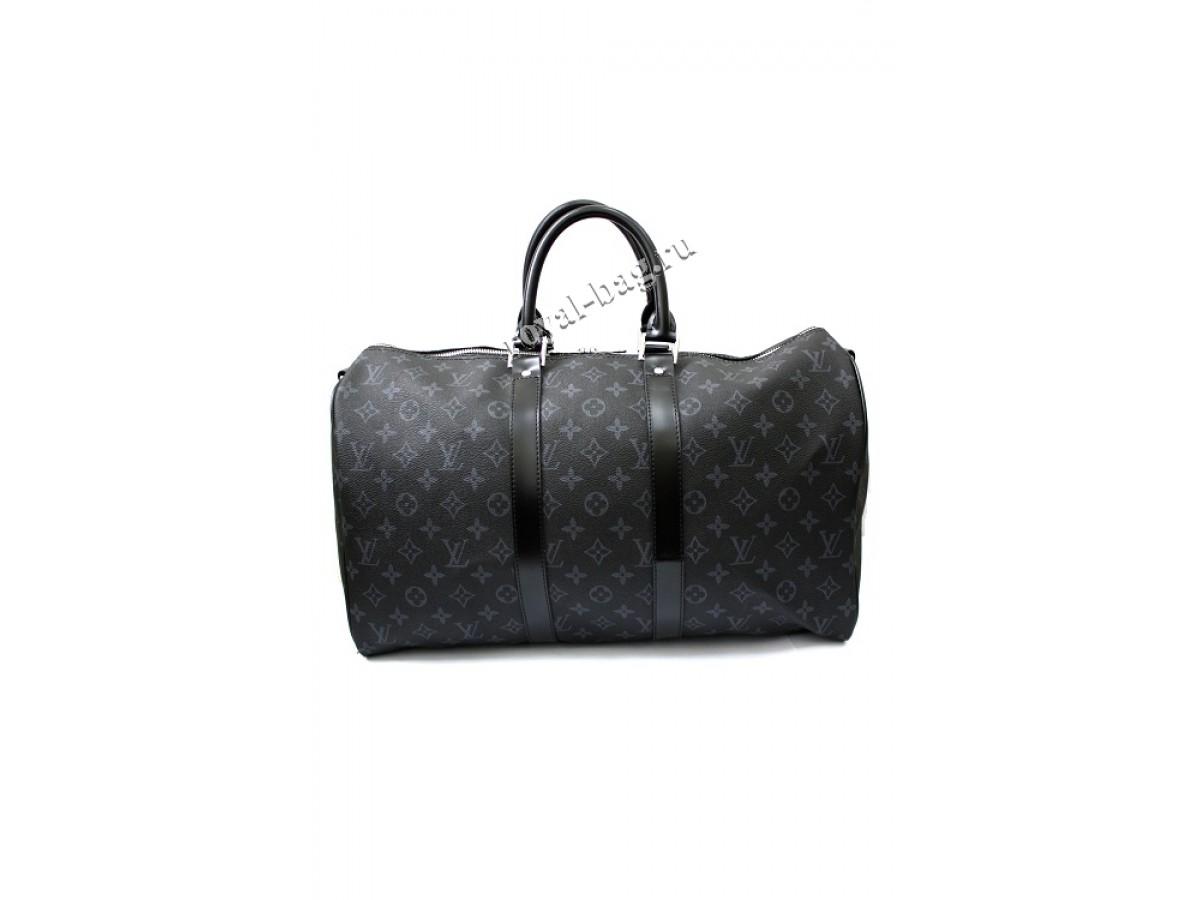 b5501d5286ec Дорожная сумка Louis Vuitton Monogram Eclipse Keepall 45 41417-luxе-R
