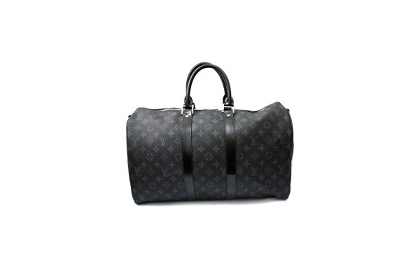 Дорожная сумка Louis Vuitton Monogram Eclipse Keepall 45  41417-luxе-R
