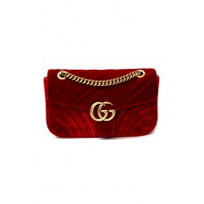 Сумка Gucci Marmont velvet shoulder bag 443497-luxe-R
