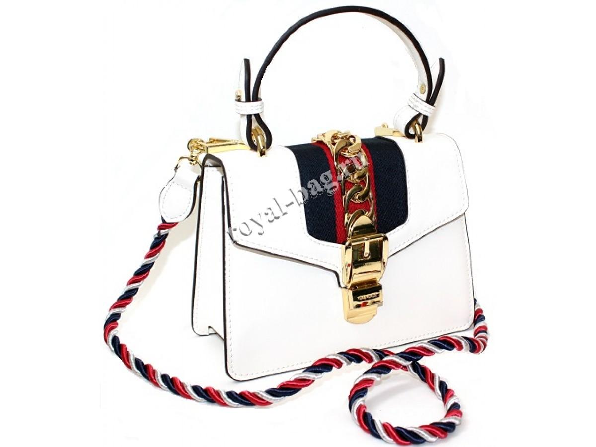 7153bb976a0d Сумка Gucci Sylvie mini bag 421882-luxe1R