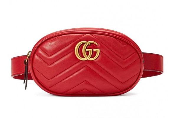 Сумка на пояс Gucci Marmont bag 401294-luxe3R