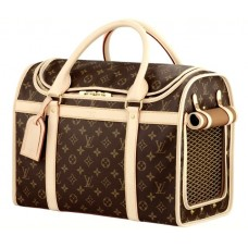 Сумка-переноска для собак Louis Vuitton Softsided Luggage Dog Carrier 409876-luxe1R
