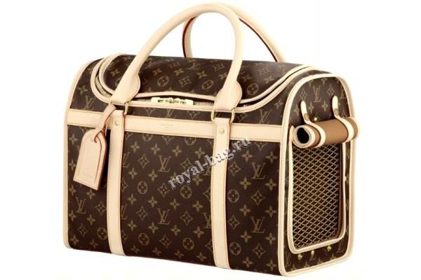 Сумка-переноска для собак Louis Vuitton Softsided Luggage Dog Carrier 409876-luxe-R