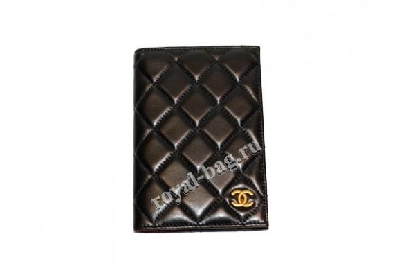 Обложка для паспорта Chanel  1607-luxe1R