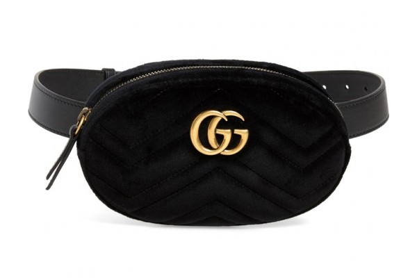 Сумка на пояс Gucci Marmont bag 401294-luxe2R