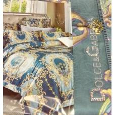 Комплект постельного белья Dolce&Gabbana 6552-luxe3R