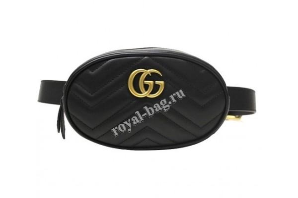 Сумка на пояс Gucci Marmont bag 401294-luxe8R
