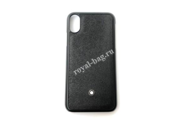 Чехол Montblanc для IPhone 6, 7, 8, Х арт. 6676-luxe25R