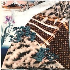 Шелковый платок Louis Vuitton 8090-luxe-R