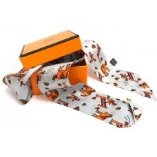 Шелковый шарфик Hermes 4019R
