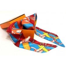 Шелковый шарфик Hermes 4065R