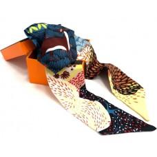 Шелковый шарфик Hermes 4011R