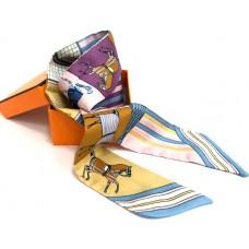 Шелковый шарфик Hermes 4070R