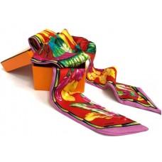 Шелковый шарфик Hermes 4071R