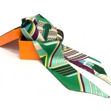 Шелковый шарфик Hermes 4079R