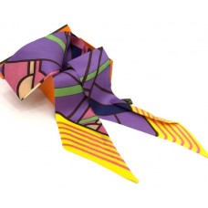 Шелковый шарфик Hermes 4062R