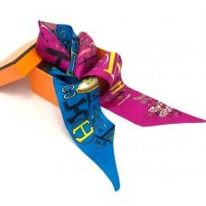 Шелковый шарфик Hermes 4083R