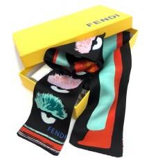Шелковый шарфик Fendi 10151-luxe13R