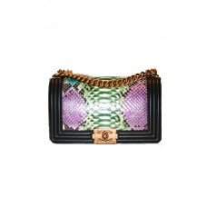 Сумка Chanel Boy Bag Collection Piton 67086-luxe15R