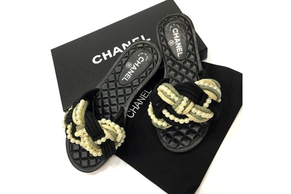 Шлепанцы Chanel 0455-luxe-R