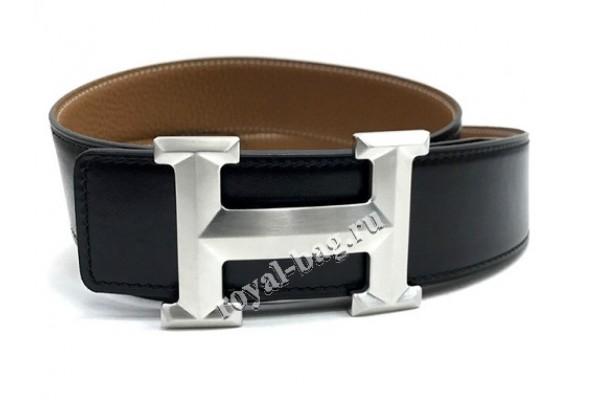 Ремень Hermes ( двусторонний) 10201-luxe premium-R