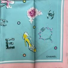 Шелковый платок Chanel A9022-luxe premium-R