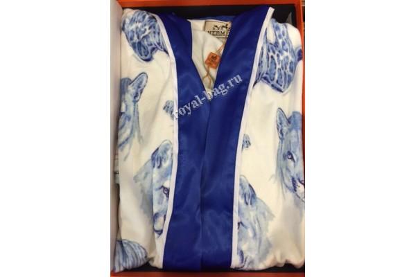 Домашний халат Hermes 140318-luxe8R