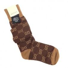 Носки-гольфы Gucci высокие 8555-luxe3R