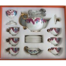 Чайный сервиз Hermes ( с чайными ложками ) 4569-1R