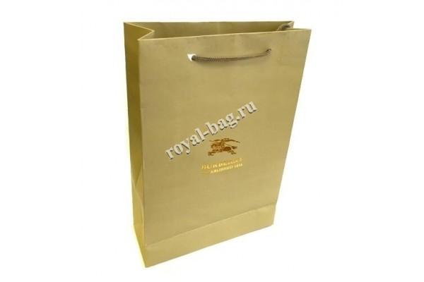 Подарочный пакет Burberry ( маленький)